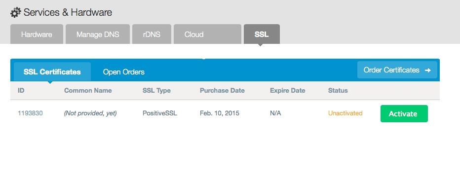 View SSLs