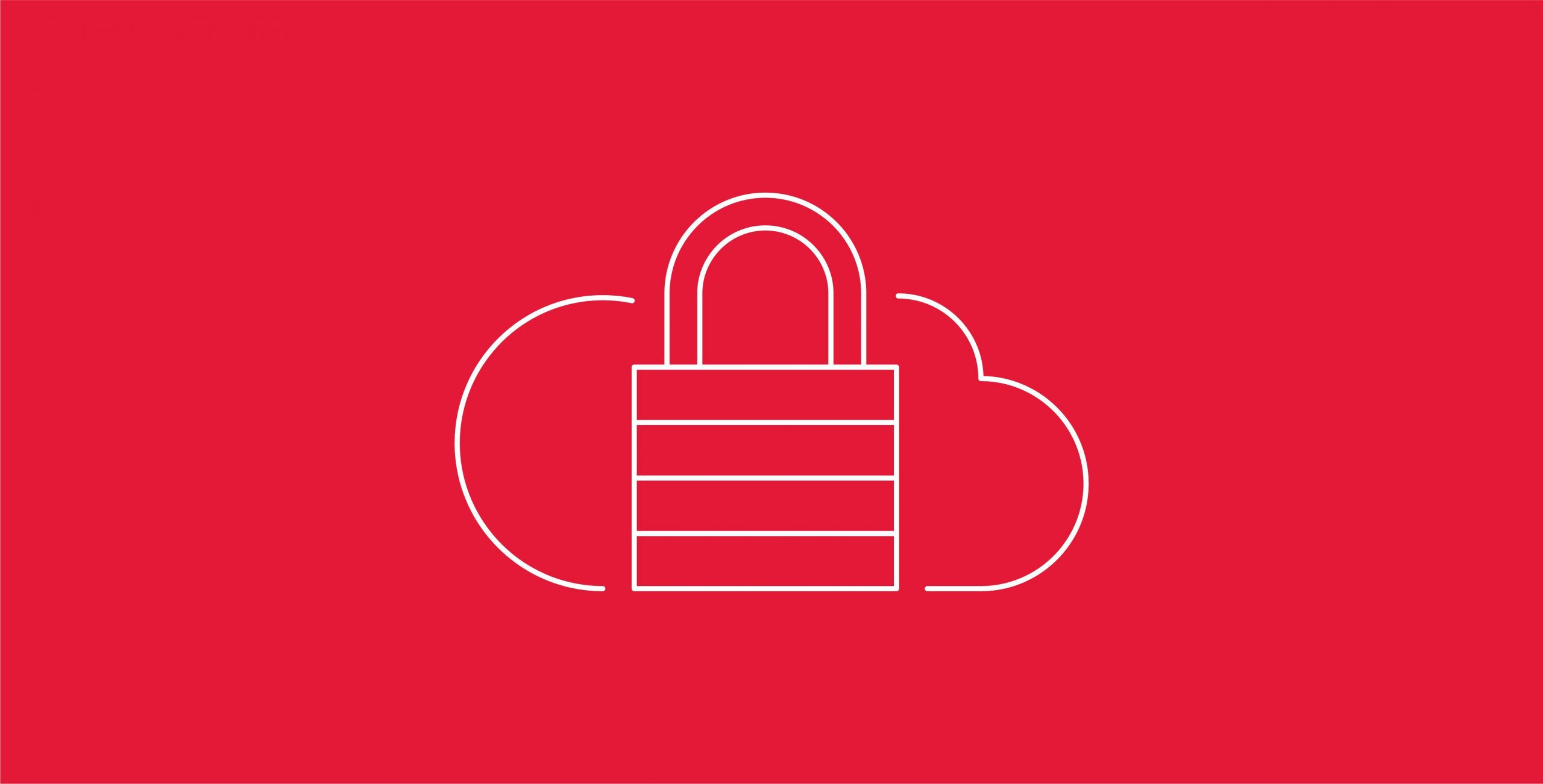 Icon of a cloud and a padlock, symbolizing the concept of vendor lock-in